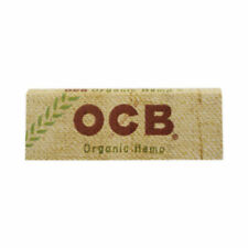 10 Pcs OCB Organic Hemp Cigarette Rolling  Papers (50 Leaves Each)