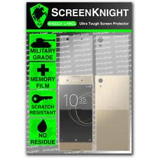ScreenKnight Sony Xperia XA1 Full Body SCREEN PROTECTOR - Military Shield