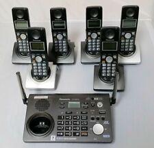 Panasonic KX-TG6700 2-Line Cordless Phone with 6 Handsets + Extra Charging Base