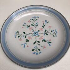 "Fascino Stoneware Hand Decorated Stoneware 10 5/8"" Dinner Plate, Japan"
