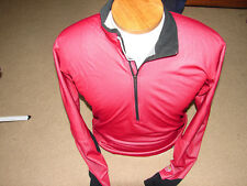 Men's Mountain Hardwear 1/4 Zip Long Sleeve Base Layer Windstopper Shirt Size Lg