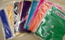 5 Seidentücher, farblich sortiert, ca. 45 cm x 45 cm, mit Saum, neu, verpackt