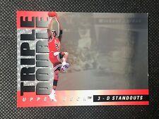 Michael Jordan 1993-94 Upper Deck Triple Double 3-D Standouts #TD2 Bulls A