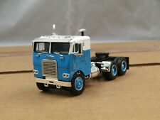 Dcp white/blue Freightliner cabover tractor new no box