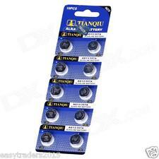 20 AG13 LR44 SR44 L1154 357 A76 Alkaline batteries button cells watch camera
