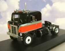 IXO DIECAST 1/43 1950 KENWORTH BULLNOSE TRUCK/TRACTOR/CAB BLACK & RED TR036