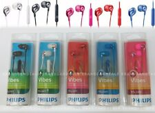 New Philips Vibes My Jam In-Ear Headphones Earbuds Earphones with Mic SHE3590