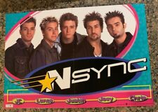 NSYNC Backstage Pass Board Game by Patch Boy Band Trivia Complete 2000