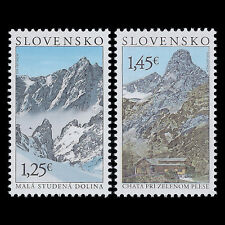 "Slovakia 2013 - Tourism ""Beauties of our Homeland"" Nature - Sc 670/1 MNH"