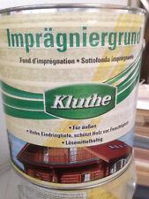 2,5 Liter Kluthe Imprägniergrund lösemittelhaltig  Maler Holz Aussen Grundierung