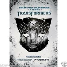 DVD Transformers Trilogy [ Audio and Subtitles in English + Portuguese ]