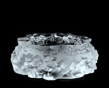 Art Deco Decorative Glass ' Panthers ' Large Ashtray 1930' H.Hoffmann