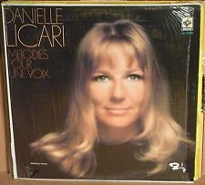 Danielle Licari - Melodies Pour Une Voix Lp NM 20131110 087 mexican