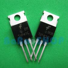 5pairs /10pcs ( TIP41C + TIP42C ) NPN PNP 6A 100V Transistor TO-220 FSC