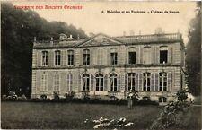 CPA   Souvenir des Bisquits -Mézidon et ses Environs - Cháteau de Canon (516011)