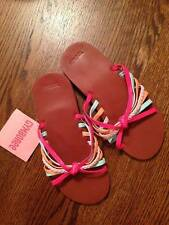 Gymboree Tropical Garden Multi-colored Strappy Sandals Sz 11