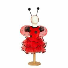 Baby Girls LADYBIRD FANCY DRESS COSTUME  Age 4 5 6  insect ladybug Travis  NEW