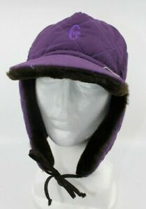 """CONTE OF FLORENCE - PURPLE BOMBER CAP - SMALL (21"""" CIRCUMFERENCE)"""