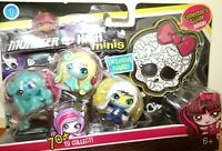 Monster High Minis 3 Pack with Frankie, Lagoona, & Twyla