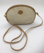 Gucci Beige Micro Guccissima Canvas Tan Leather Trim Cross-body Shoulder Handbag