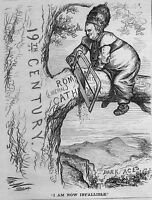 ROMAN CATHOLIC JESUITS LIBERAL INFALLIBLE DARK AGES SAW BAD IDEA THOMAS NAST
