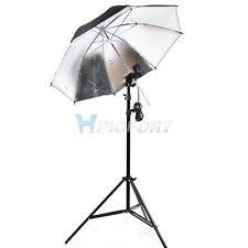 "Photo Studio Lighting Single Umbrella Light kit 33""+bulb holder+light stand 2m"