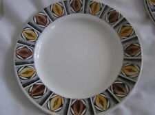 Kathie Winkle Britamic Ironstone dessert / side plate- Mexico pattern