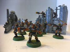 Warhammer 40k Space Wolf Scouts - set of 9 - well painted