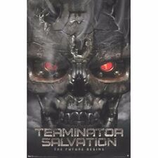 TERMINATOR SALVATION - The Future Begins - Movie Poster - Christian Bale ~ 24x36