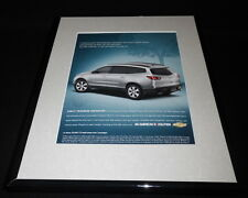 2008 Chevrolet Chevy Traverse 11x14 Framed ORIGINAL Advertisement