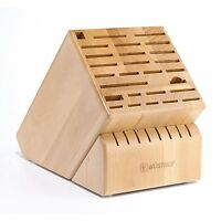 Wusthof 35 Slot Knife Storage Block **NEW**