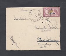 French Morocco 1920's Two Covers Casablanca & Tadla Military To Germany