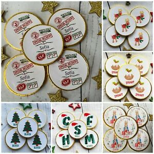 Christmas eve box fillers Stocking fillers 5 x personalised milk Chocolate coins