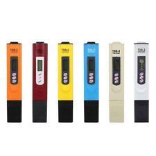 LCD Digital High Accuracy PH Meter Tester Pocket Water Pen Hydroponics