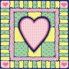 30 Custom Heart Quilt Art Personalized Address Labels