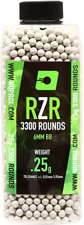 Nuprol RZR 0.25g Precision BBs 3300 Rounds Airsoft Pellets BB