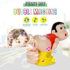 Bubble Machine Cartoon Automatic Bubble Maker Blower Music Bath Toys For Baby