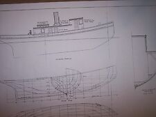great lakes tug Ecorse ship plan