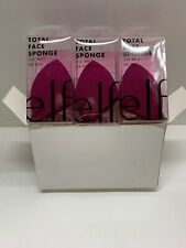 3 Pack e.l.f. Total Face Sponge