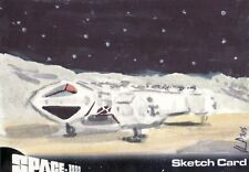 SPACE 1999 Solly Mohamed / Eagle Transporter Sketch Card Unstoppable Cards