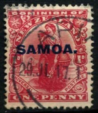 Used Postage Samoan Stamps (Pre-1962)