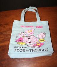 Vtg 1985 Pink Panther Book Bag Pinky Panky Tote Bag