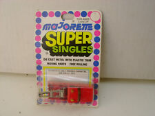 MAJORETTE SUPER SINGLES RED WRECKER TOW TRUCK NEW ON CARD