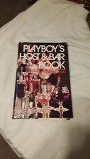 Playboy's host and bar book by Thomas Mario 1971