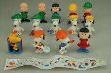 Complete Set of 14 Kinder Surprise Snoopy Peanuts 1994 plus Paper D182