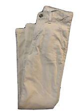 Boys Crown & Ivy Khaki Dress Pants Motion Flex Size 10 Guc