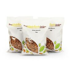 Almonds 3kg (Whole Almonds)   Raw, Natural, Vegan, Nuts   Buy Whole Foods Online