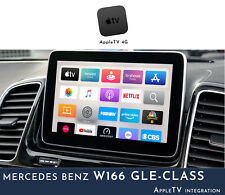 Mercedes Benz W166 GLE-Class NTG5 Audio - AppleTV Integration