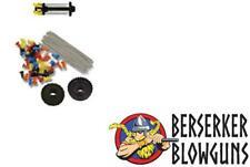 25 .40c Target Blowgun Darts & Dart Holder Kit by Berserker Blowguns MADE IN USA