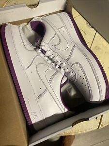 Nike Air Force 1 Purple Men's Sneakers for Sale   Authenticity ...